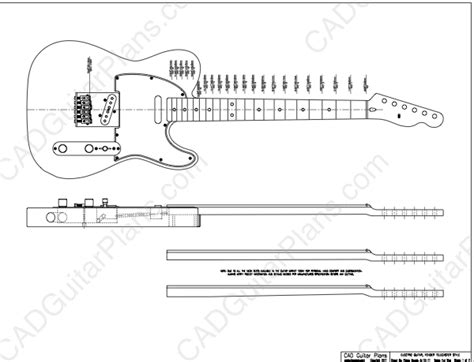 the pdf template fender stratocaster standerd headstock pdf telecaster electric guitar plan fender style cad
