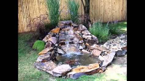 Small Home Garden Ponds And Waterfalls Ideas