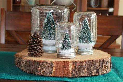 esszimmer deko schneekugel selber machen deko feiern diy weihnachtsdeko ideen zenideen