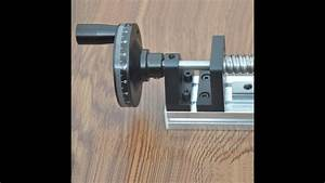 Best Manual Driven Ball Screw Linear Rail Guide Stage