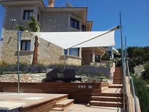 Sonnenschutz Für Garten : ma gefertigte sonnensegel f r terrassen als moderner ~ Michelbontemps.com Haus und Dekorationen