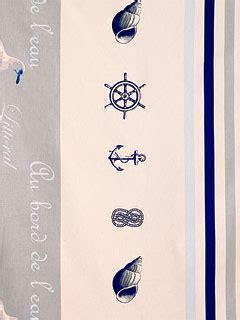Rideaux Motifs Marins by Rideaux Marin Sur Mesure Rideaux Avec Motif De La Mer