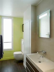 Abat Jour Salle De Bain : am nagement appartement sous combles baign de lumi re paris ~ Melissatoandfro.com Idées de Décoration