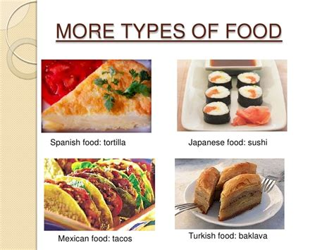 different types of cuisines in the the of cooking around the