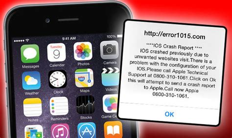 warning on iphone warning iphone and scam hits the uk tech