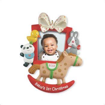 2012 baby s first christmas photo holder hallmark ornament