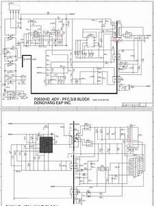 Diagrama De Fuente De Alimentacion Tv Lcd Samsung Bn44