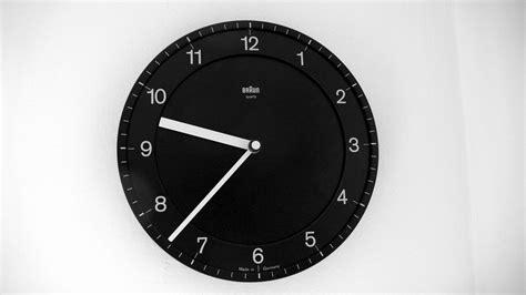 Braun Design Wall Clock By Dietrich Lubs