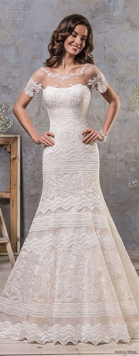 Boat Neck Fall Dress by Best 25 Boat Neck Wedding Dress Ideas On