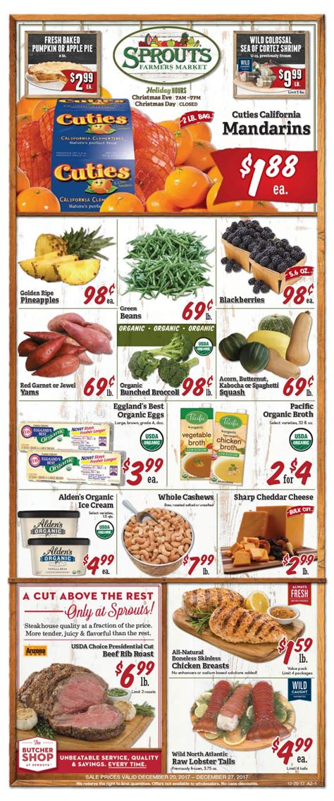 sprouts weekly ad december  december