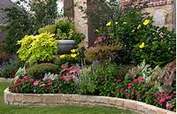 flower bed designs flower bed ideas for full sun pictures - Beautiful black ...