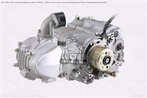 84346 Daytona 150cc Complete Engine Daytona