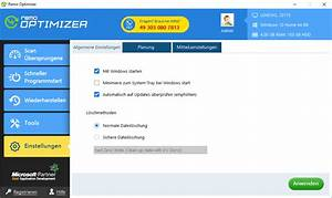 Manual Guide On Different Settings Of Windows Remo Optimizer