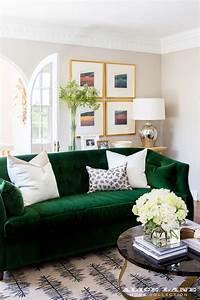 30, Lush, Green, Velvet, Sofas, In, Cozy, Living, Rooms