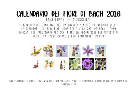 fiori di bach costi calendario 2016 fiori di bach orizzontale vivere a