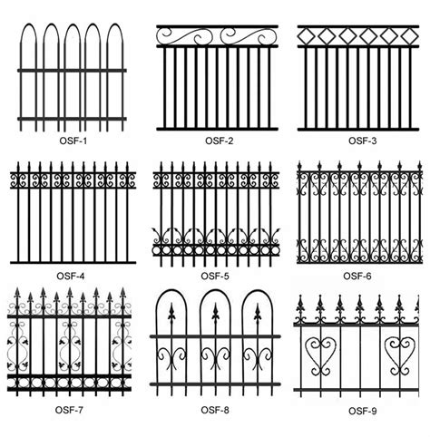 metal fence designs pictures engreat steel fence company ornamental steel fence panels with endless designs