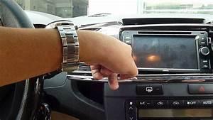 Toyota Fortuner Navigator Head Unit Install Gps Antenna