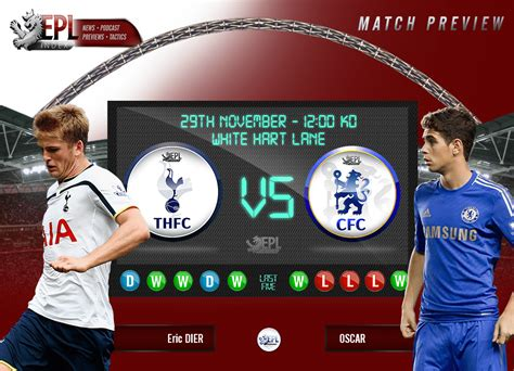 Tottenham Vs Chelsea Preview | Team News, Stats & Key Men ...