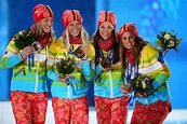 Denise Herrmann Photos Photos - Medal Ceremony - Winter ...