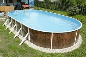 Piscine En Acier : piscine hors sol en acier avantages et inconv nients ~ Melissatoandfro.com Idées de Décoration