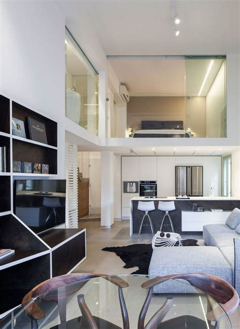contemporary loft apartment  tel aviv