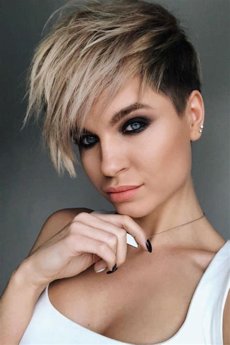 fade haircuts  women  glam  short trendy hairstyles    haircuts
