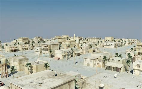 arab city   model