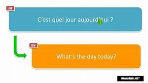On Est Quel Jour : learn french phrases c est quel jour aujourd hui youtube ~ Melissatoandfro.com Idées de Décoration