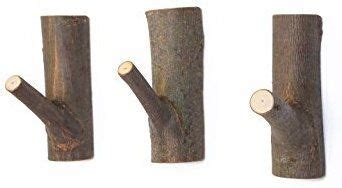 With top and bottom branches holding differing levels of weight, they're both artistic and handy. Amazon.com: WOOD MEETS COLOR Decorative Wood Adhesive Hooks, Creative Vintage Wall Hooks, Key ...