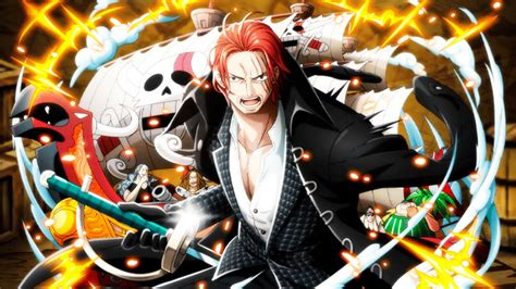 piece amvasmv akagami  shanks  king youtube