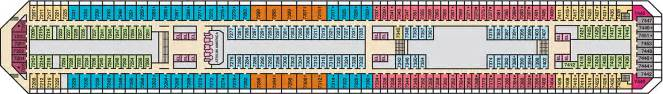 carnival valor empress deck plan carnival valor deck 7