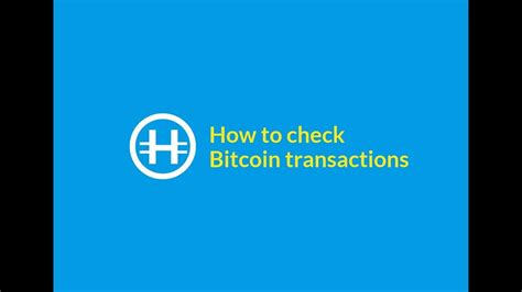 Transactions in the bitcoin network are open to all users, which allows you to check them for the. How to check Bitcoin transactions - Hodl Hodl trading platform - YouTube