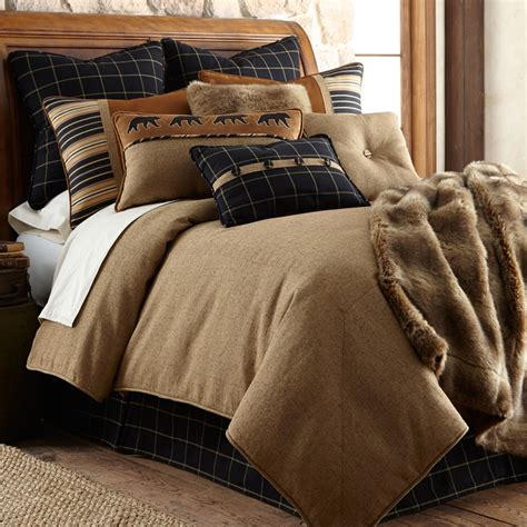 ashbury comforter set hiend accents rustic bedding