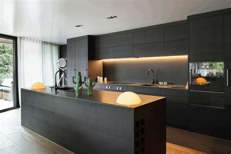 backsplash ideas for small kitchens contemporary matte black kitchen cabinet smooth black rock