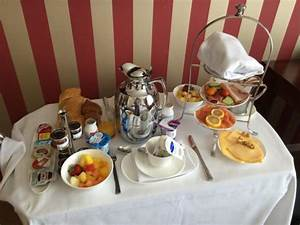 Room service breakfast - Picture of Hotel Dukes' Palace ...