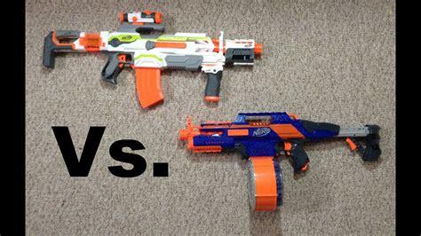 nerf war modulus vs rapidstrike person view