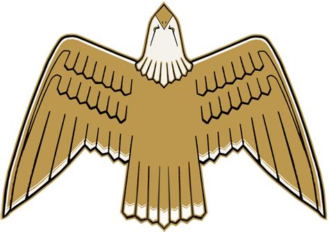 jeep eagle logo golden eagle graphic my paint shop pro facsimily of the