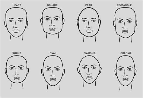 mens hairstyles   face shape  trend