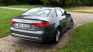 Audi A4 B9 Nachrüsten : 2016 audi a4 2 0 tdi b9 150 hp test drive youtube ~ Jslefanu.com Haus und Dekorationen