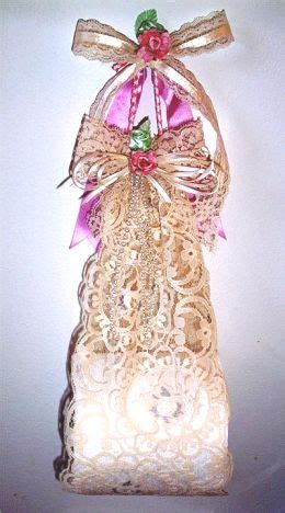 lace toilet tissue holder diy craft idea dot  women