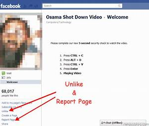 Facebook Fake Osama Death Video Spreads Virus Spam
