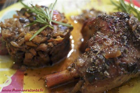 comment cuisiner les souris d agneau souris d agneau confites autour d une ratatouille