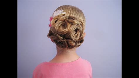 Wedding Hairstyles For Girls : Bridal, Prom, Flower Girl Hairstyle