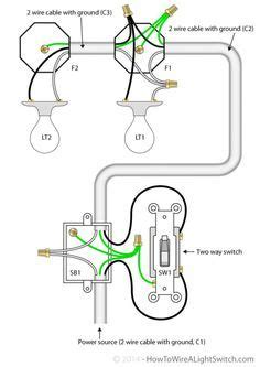 Shop Wiring Diagram For Light by Image Of Wiring Diagram For House Light A Simple Two Way