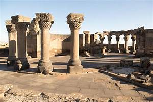 Zvartnots Temple, Armenia  Zvartnots