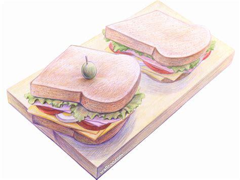 cuisine dwg 壁纸1024 768手绘美食壁纸 食物彩色铅笔画 一 彩色铅笔画图片 美食桌面 color pencil