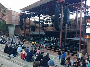 Red Rocks Reserved Seating Chart Red Rocks Amphitheatre Section Reserved Row 13 Seat 3