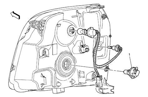 replace headlight bulb 2010 gmc autos post