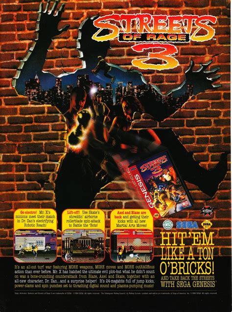 streets  rage   game gamefabrique