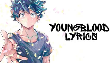 Nightcore  Youngblood (lyrics) 5 Seconds Of Summer Youtube